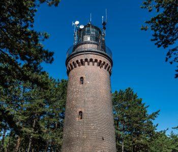 The Czołpino lighthouse