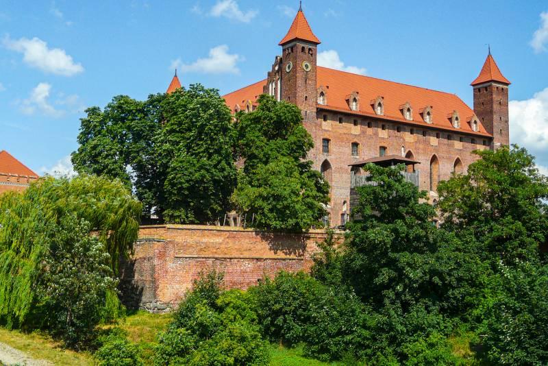 Gniew, zamek, fot. Pomorskie Travel