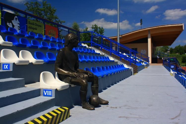 The Kazimierz Deyna Stadium in Starogard Gdański