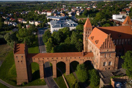 Zamek w Kwidzynie - widok na gdanisko, fot. Pomorskie Travel/ M.Ochocki