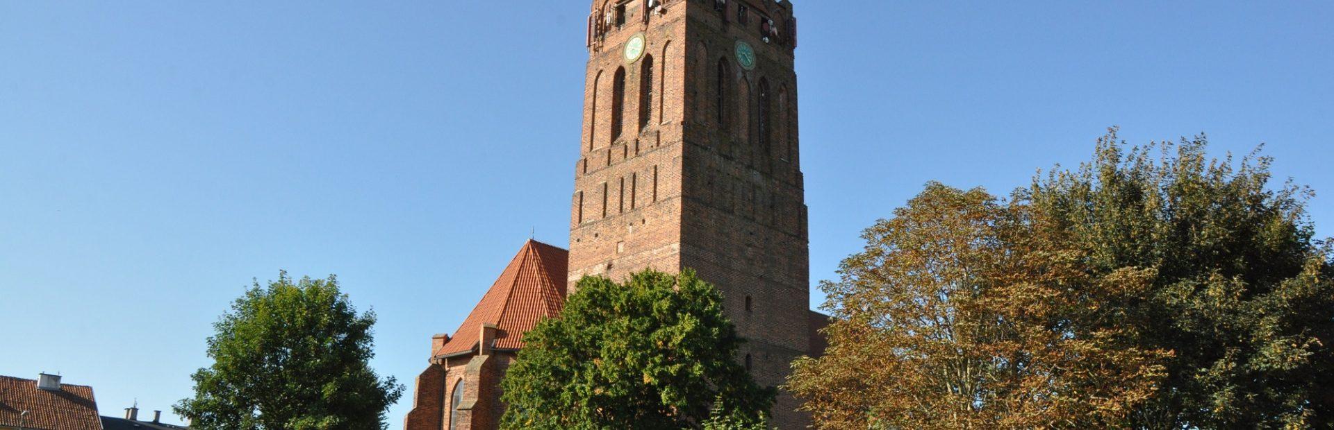 Gotycka katedra pw. Św. Wojciecha w Prabutach