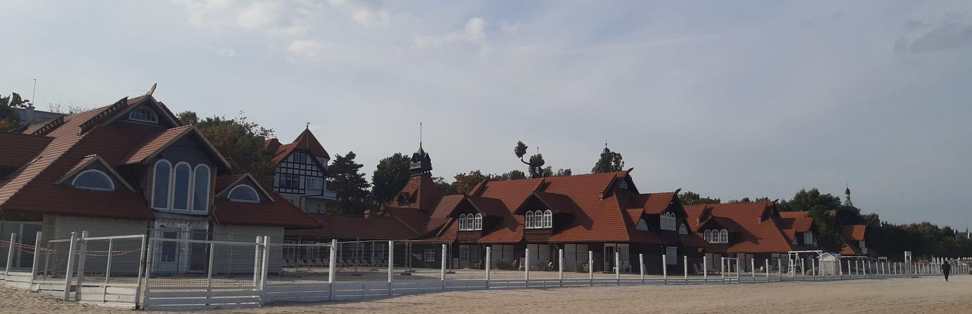 Budynek Łazienek Południowych w Sopocie