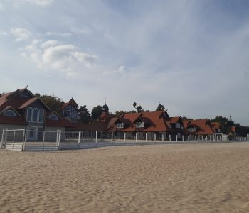 The South Bathhouse Building in Sopot
