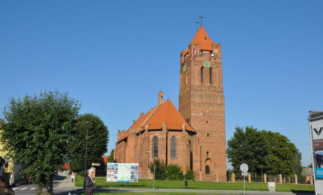 Prabuty, Katedra św. Wojciecha, fot. UMiG Prabuty