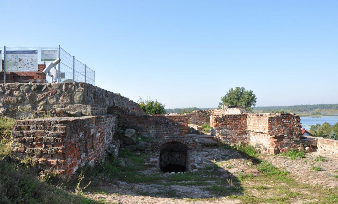 Ruiny zamku biskupiego, fot. UMiG Prabuty