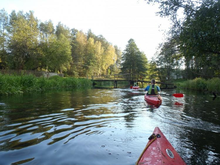 The Wda canoe trail
