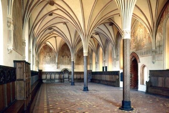 Zamek w Malborku, kapitularz, fot.Pomorskie Travel