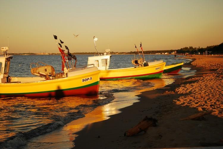 Przystań rybacka i domy rybackie