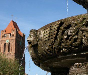 Fontanna Rolanda w Prabutach