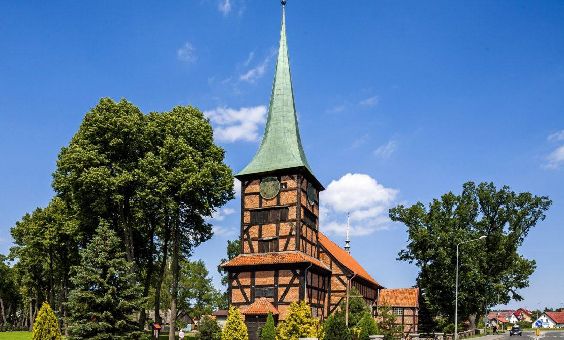 Stegna kościół, fot.UG Stegna