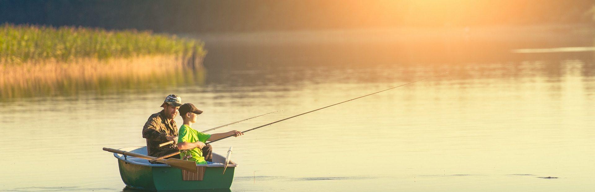 Going fishing in Pomorskie