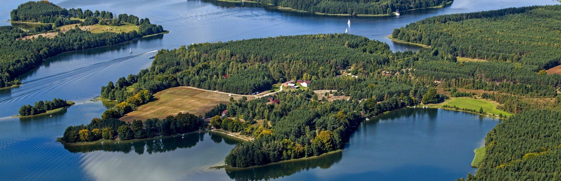 Wdzydzki Park Krajobrazowy – nature trails