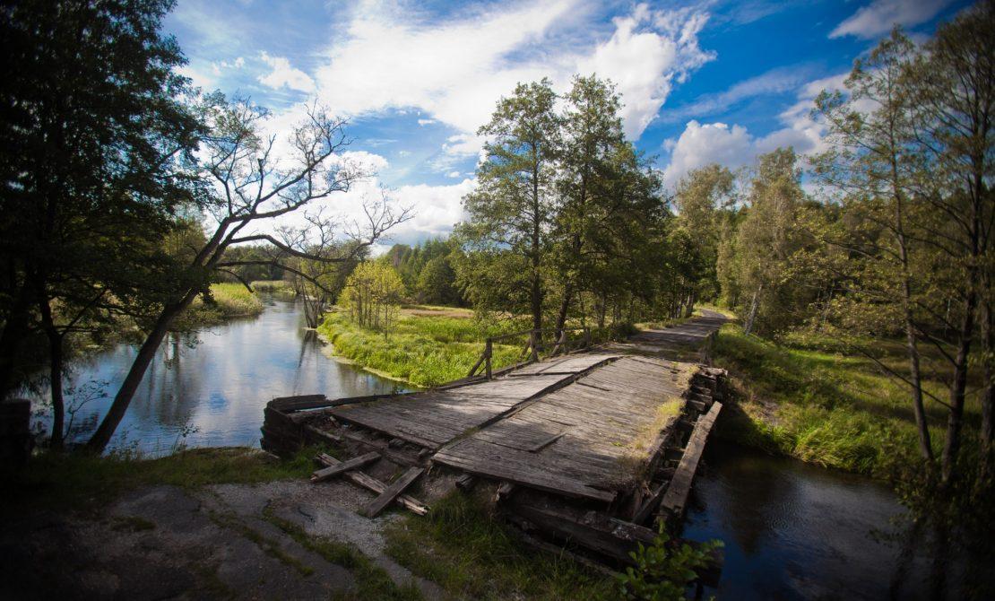 Park Narodowy Bory Tucholskie, fot.Daniel Frymark - Dawny Most na Rzece w Babilonie