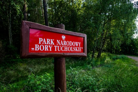 Tabliczka Parku, fot. Pomorskie Travel, M. Ochocki