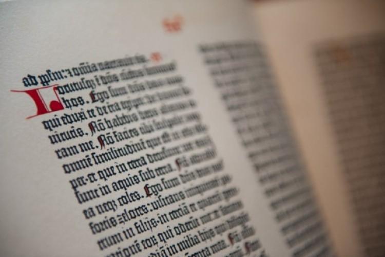 Johannes Gutenberg and the Pelplin Bible
