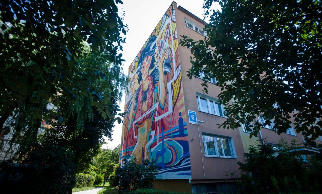 Gdańskie murale, fot. Pomorskie Travel
