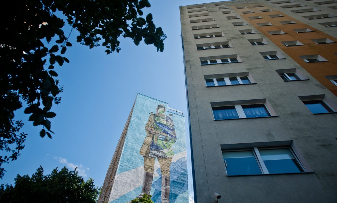 Murale gdańskie, fot. Pomorskie Travel