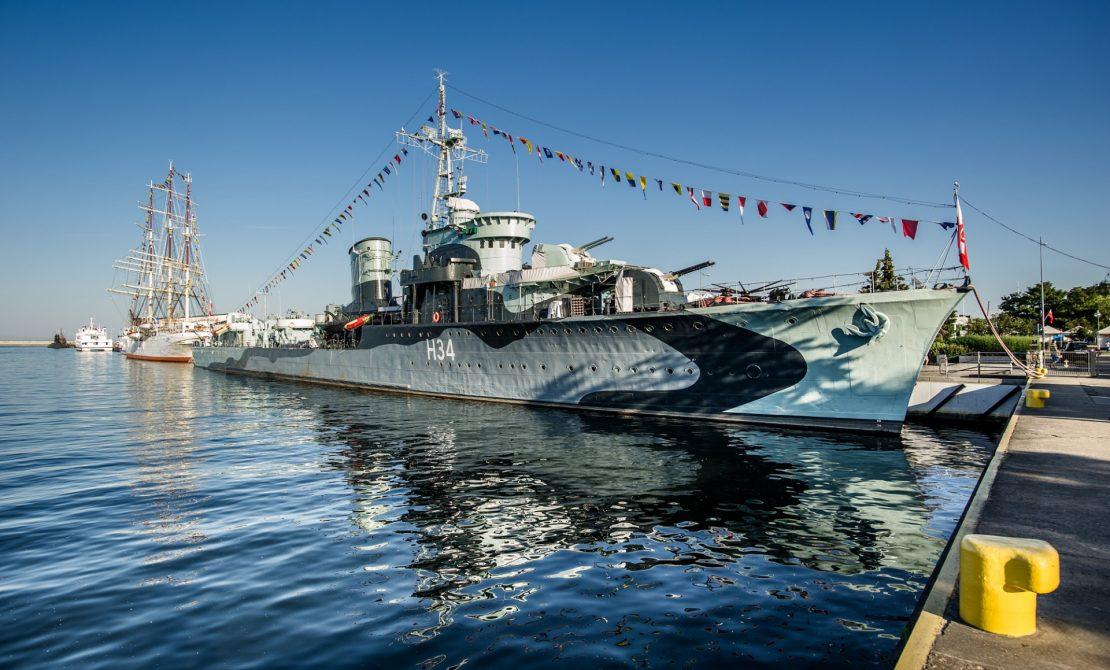 Gdynia nabrzeża, fot. Pomorskie Travel/ M. Ochocki