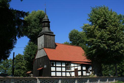 St. Francis' Church in Olszanowo