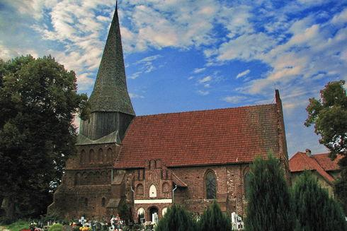 The Saints Peter and Paul Church in Mątowy Wielkie