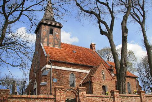 The Church of St. James the Apostle in Dzierżążno