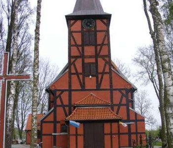 The Our Lady of Częstochowa Church in Kiezmark