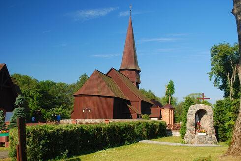 Kościół pw. Podwyższenia Krzyża Świętego w Leśnie