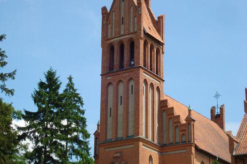 The Holy Family and The Transfiguration of the Lord Church in Ryjewo