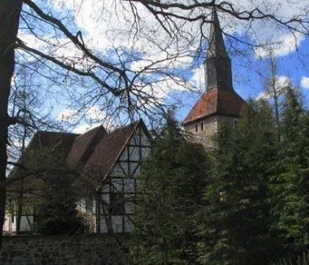 The Church of  St. John the Baptist in Dębnica Kaszubska