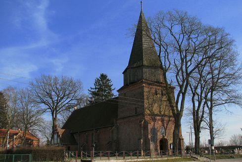 The Church of St.  Elizabeth of Hungary in Lubieszewo