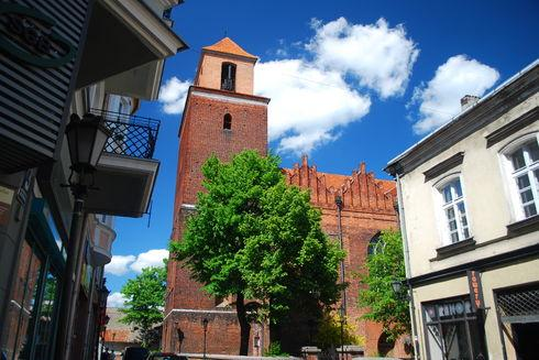 Kościół  p.w. Podwyższenia Krzyża św. w Tczewie