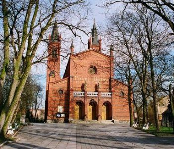 The Holy Trinity Church in Kwidzyn