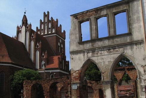 St.  Nicholas' Church in Gniew
