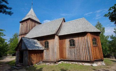 St. Barbara Chuch in Swornegacie - Wdzydze Kiszewskie