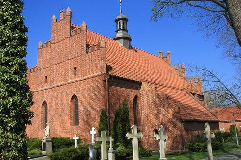 The Corpus Christi Church in Pelplin