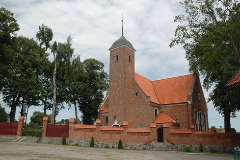 Holy Trinity and All Saints' Church in Goręczyno