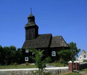 The St. James' Church in Krępsko