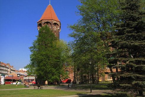 St. Hyacinth Tower (Baszta Jacek) in Gdańsk