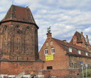 The Corner Tower (Brama Narożna) in Gdańsk