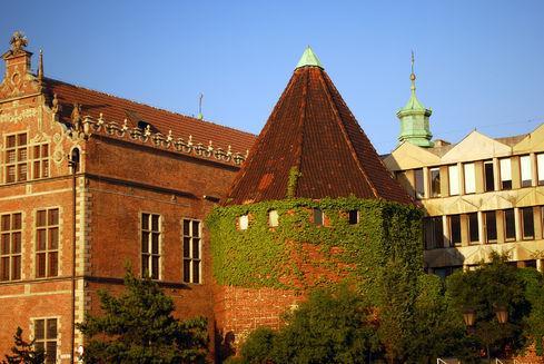The Straw Tower (Baszta Słomiana) in Gdańsk