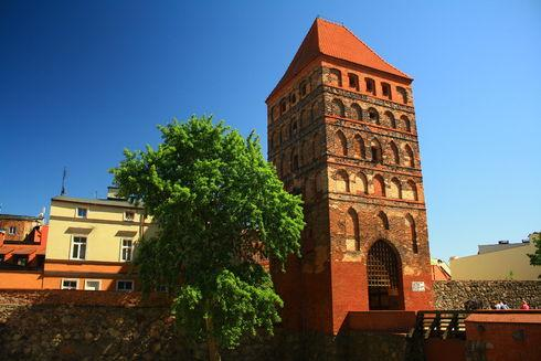 The Człuchów Gate in Chojnice