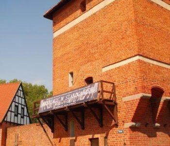 The Gdańsk Gate Tower in Starogard Gdański