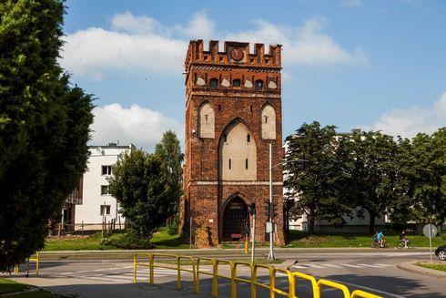 St. Mary`s Gate (Sztumska) in Malbork