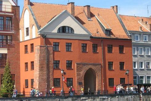 Świętojańska Gate in Gdańsk
