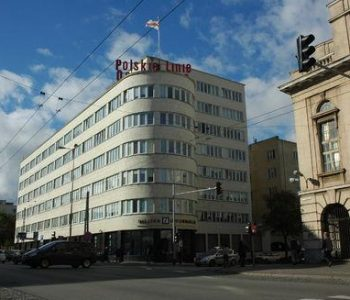 The building of the Former Social Insurance Institution ( ZUS) in Gdynia