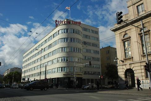 Budynek dawnego ZUS-u w Gdyni