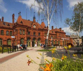Budynek dworca PKP w Malborku