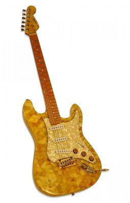 bursztynowa gitara