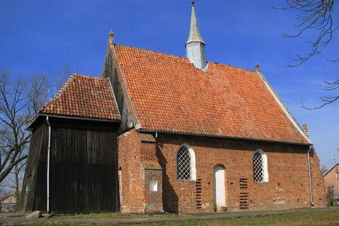 St.  Barbara's Church in Orłowo
