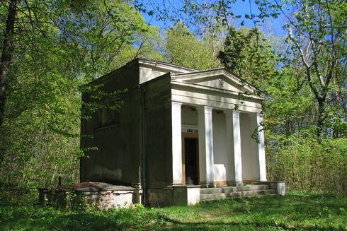 Cmentarz ewangelicki z kaplicą grobową rodziny Rexin w Salinie